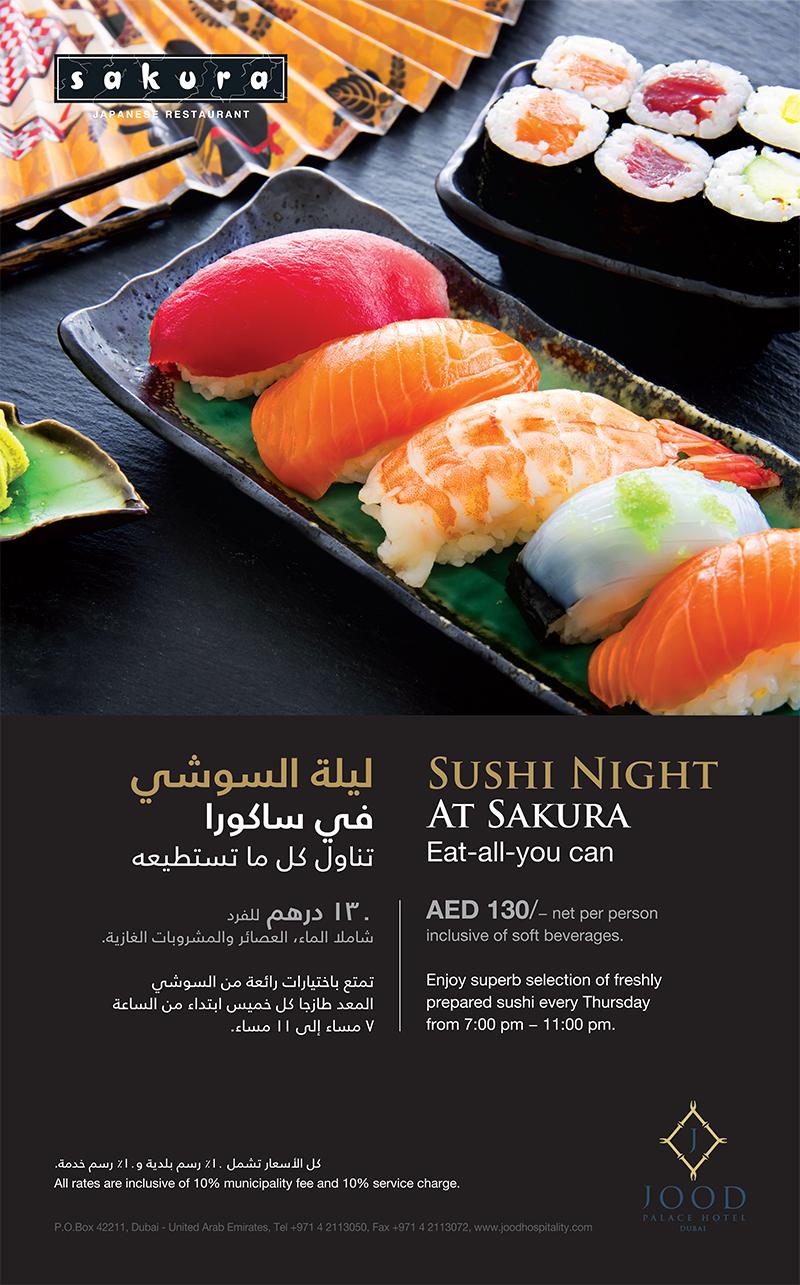 Sakura Sushi Night